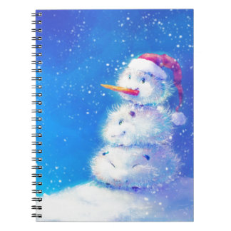Merry Christmas and happy new year 2014 Spiral Note Book