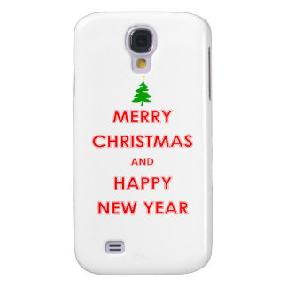Merry Christmas and Happy New Year Galaxy S4 Cover