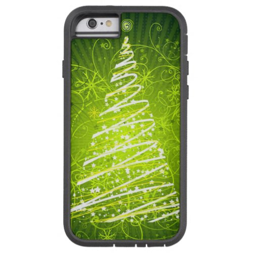 merry christmas and happy new year tough xtreme iPhone 6 case