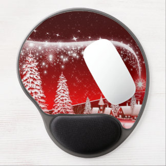 merry christmas and happy new year gel mouse pad
