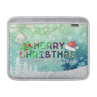 Merry Christmas and Happy New Year MacBook Air sle MacBook Air Sleeve