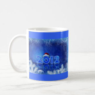 Merry Christmas and Happy New Year Classic White Coffee Mug