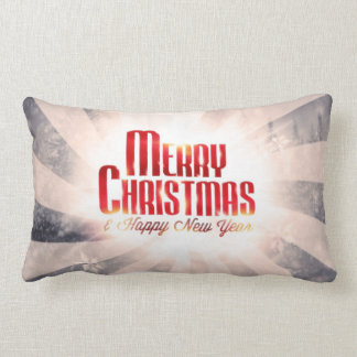 Merry Christmas and Happy New Year pillow cushions