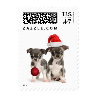 Merry Christmas And Happy New Year Postage