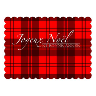 Merry Christmas and Happy new year with squares Card