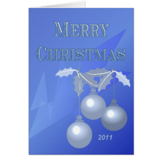 Merry Christmas And Happy New Years 2011 Card