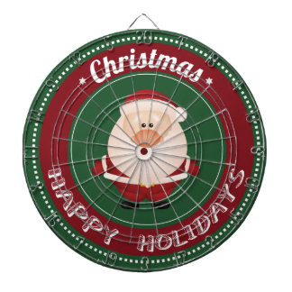 merry christmas and happy newyear dartboards