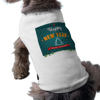 Merry Christmas and New Year greetings T-Shirt