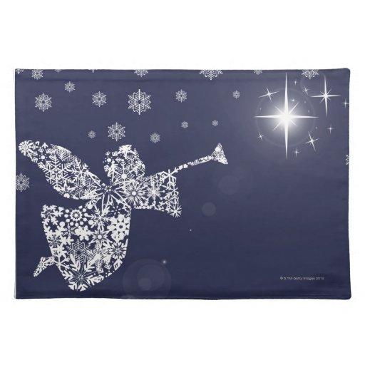 Merry Christmas Angel Blowing Trumpet Silhouette Placemats  : merrychristmasangelblowingtrumpetsilhouetteplacemat r907ec09f96a742f58b825417bf34cfe12cfku8byvr512 from www.zazzle.com size 512 x 512 jpeg 41kB