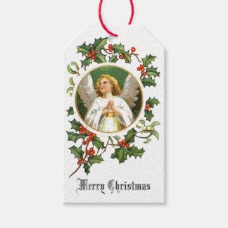 Merry Christmas Angel Gift Tags