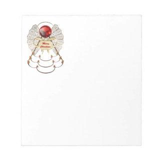 Merry Christmas Angel Notepad