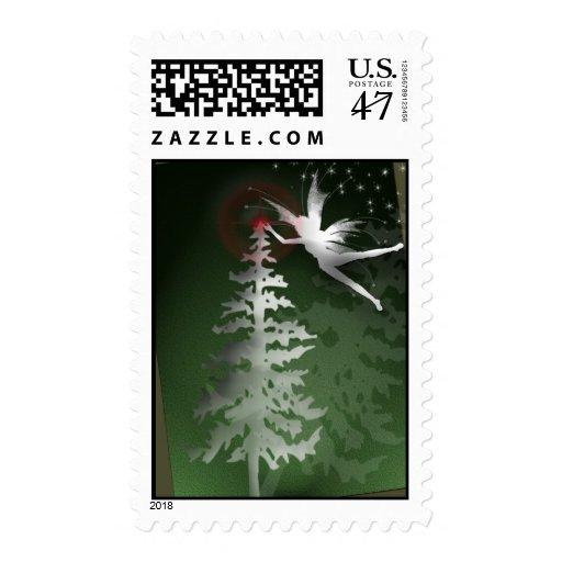 Merry Christmas Angel Stamp