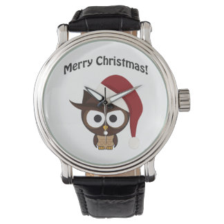 merry christmas angry owl wrist watch - Christmas Angry Birds