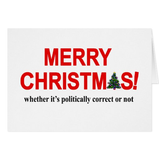 Merry Christmas Anyway Card