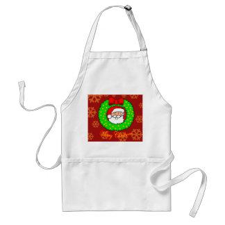 Merry Christmas apron. Adult Apron