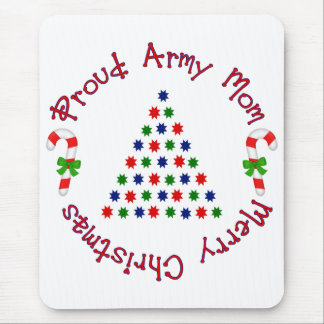 Merry Christmas (Army Mom) Mouse Pad