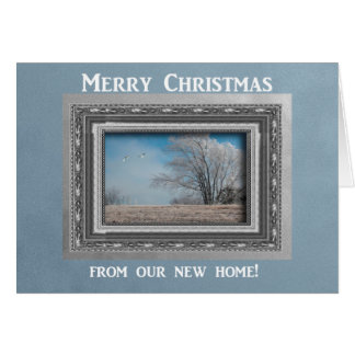 Merry Christmas, As the geese fly, New Address Cards