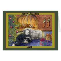 Merry Christmas Aunt Card