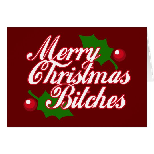 Merry Christmas B Card