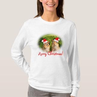Merry Christmas Baby Chipmunks T-shirt