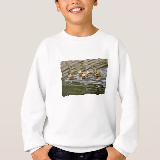 Merry Christmas Baby Geese Sweatshirt
