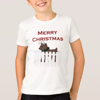 Merry Christmas Baby Reindeer T-Shirt