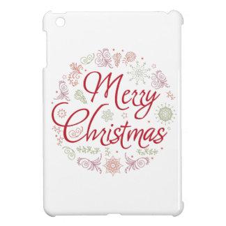 Merry Christmas ball iPad Mini Covers