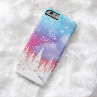 Merry Christmas Barely There iPhone 6 Case