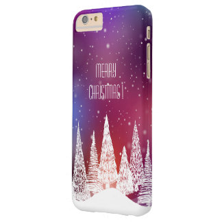 Merry Christmas Barely There iPhone 6 Plus Case