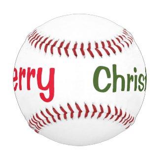 Merry Christmas Base ball