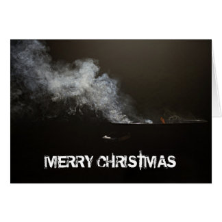 MERRY CHRISTMAS BBQ GREETING CARD