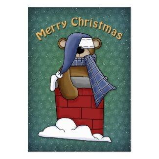 Merry Christmas Bear profilecard