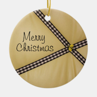 Merry Christmas Bee Ornament
