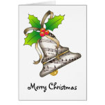 Merry Christmas Bell Card
