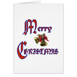 Merry Christmas bell Cards