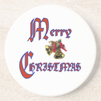 Merry Christmas bell coasters