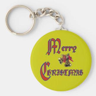 Merry Christmas bell Key Chain