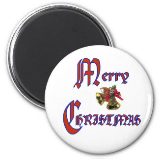 Merry Christmas bell Magnet