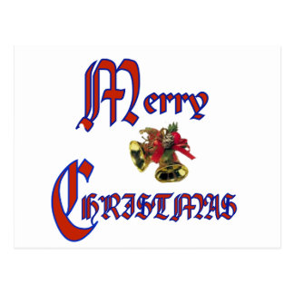 Merry Christmas bell Post Cards