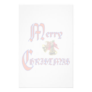 Merry Christmas bell Stationery