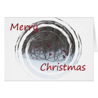 Merry Christmas Berries Card