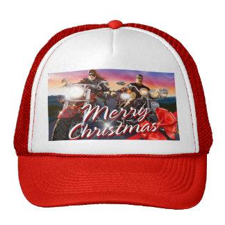 Merry Christmas Bikers 1 Hat Options