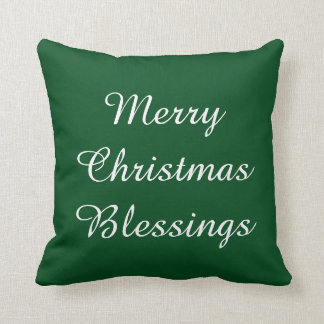 Merry Christmas Blessings/Tree Pillow