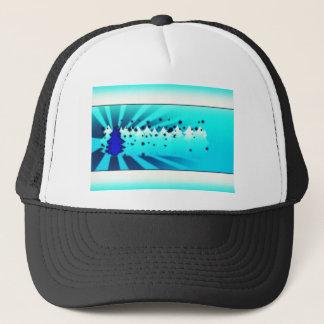 Merry Christmas - Blue Trucker Hat