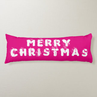 Merry Christmas Body Pillow