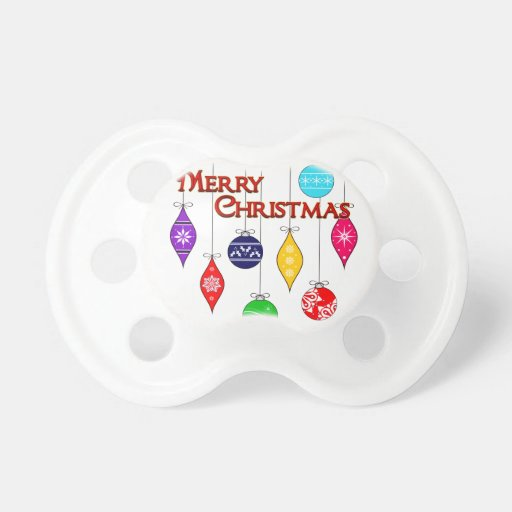 Merry Christmas BooginHead Pacifier