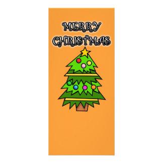 Merry Christmas bookmark Rack Card