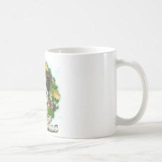 Merry Christmas Border Collie Coffee Mug