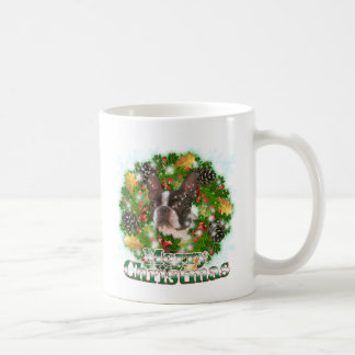 Merry Christmas Boston Terrier Classic White Coffee Mug