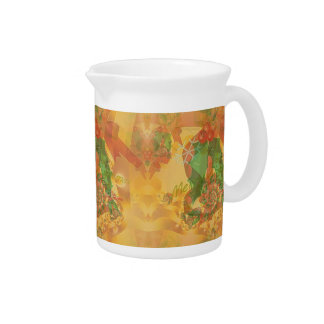 Merry Christmas Bow Beverage Pitcher